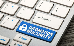 information security concept Royalty Free Stock Photo
