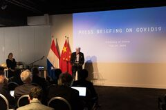 Information shared by the Chinese Ambassador to The Netherlands February 26th 2020 in The Hague