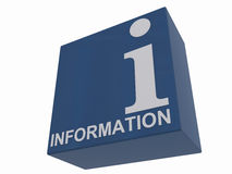 Information sign Royalty Free Stock Image