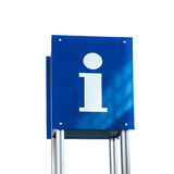 Information sign isolated on white background Royalty Free Stock Image