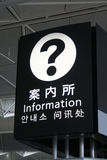 Information Signage stock image