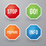 Information signs Royalty Free Stock Image