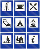 Information Signs In Poland Stock Images