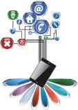 Information society Stock Photo