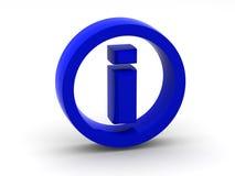Information. Symbol. 3d Stock Images