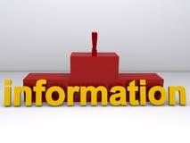 Information symbol Stock Photos