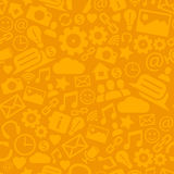 Information symbols seamless pattern background. Royalty Free Stock Image