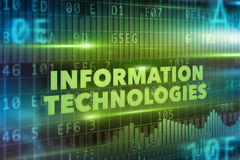 Information technologies concept Royalty Free Stock Image