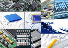 Information technologies Stock Image