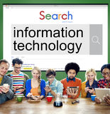 Information Technology Advanced Innovation Concept Royalty Free Stock Photo