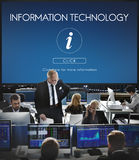 Information Technology Computer System Concept Stock Photos