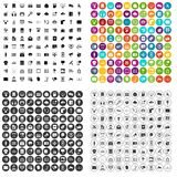 100 information technology icons set vector variant. 100 information technology icons set vector in 4 variant for any web design isolated on white Stock Photos