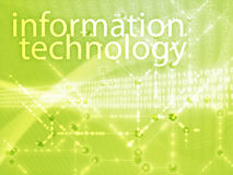 Information technology illustration Royalty Free Stock Photo