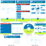 Information technology template Stock Photos