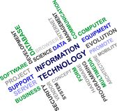 Information Technology - word cloud Stock Image