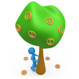 Information Tree Stock Photography