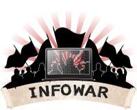 Information war. Royalty Free Stock Photos