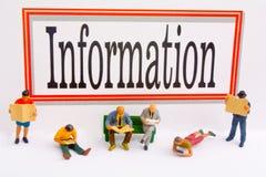 Informationen Stockfotografie