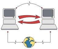 Informations-Betriebsmittel Lizenzfreies Stockfoto