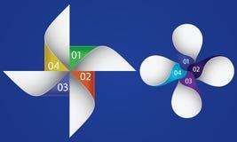 Informations-Grafikdesign-Element Lizenzfreie Stockfotos