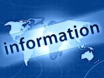 Informationsabbildung Lizenzfreies Stockfoto