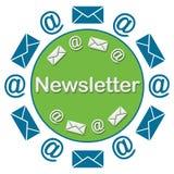 Informationsbladcirkulär Royaltyfria Bilder