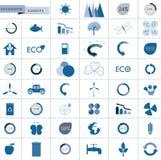 Informationsdiagrambeståndsdelar Arkivbilder