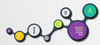Informationsgraphik Lizenzfreies Stockbild