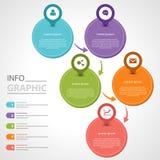 Informationsgraphik Lizenzfreie Stockfotos