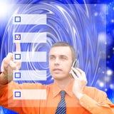 informationsny teknik royaltyfri bild