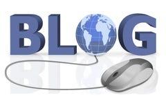 informationsonline-personlig share om blog till royaltyfri illustrationer