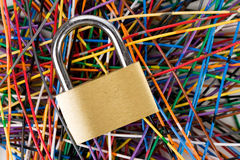 informationssäkerhet Arkivbild