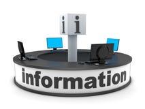 Informationsstellenabteilung Lizenzfreies Stockfoto