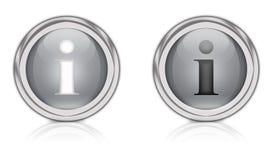 Informationssymbol arkivbild