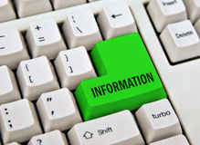 Informationstaste Lizenzfreies Stockbild