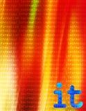 Informationstechnologie ES vektor abbildung