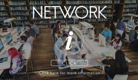InformationsteknikADB-systembegrepp arkivbild