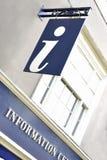 Informationszeichen Lizenzfreies Stockbild