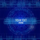Informatique élevée de fond de technologie illustration libre de droits