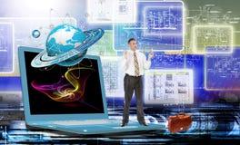Informatique d'ingénierie Génération Images stock