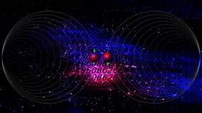 Informatique quantique Image libre de droits