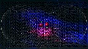 Informatique quantique Photo stock