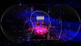 Informatique quantique Photographie stock libre de droits
