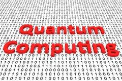 Informatique quantique Images stock