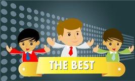 Informazione-grafico il meglio Fotografia Stock