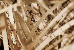 Informazioni confidenziali Immagine Stock