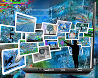 Informazioni continue Fotografia Stock