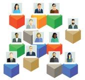 Informazioni degli impiegati Immagine Stock