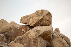 Informazioni della roccia Immagine Stock