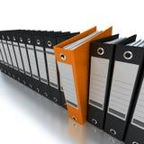 Informazioni di file e d'organizzazione Fotografia Stock Libera da Diritti